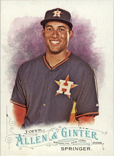 Photo of 2016 Topps Allen and Ginter #197 George Springer