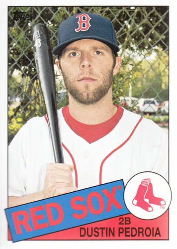 Photo of 2013 Topps Archives #148 Dustin Pedroia