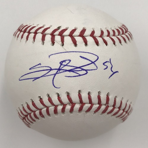 Photo of Sergio Romo Autographed Baseball
