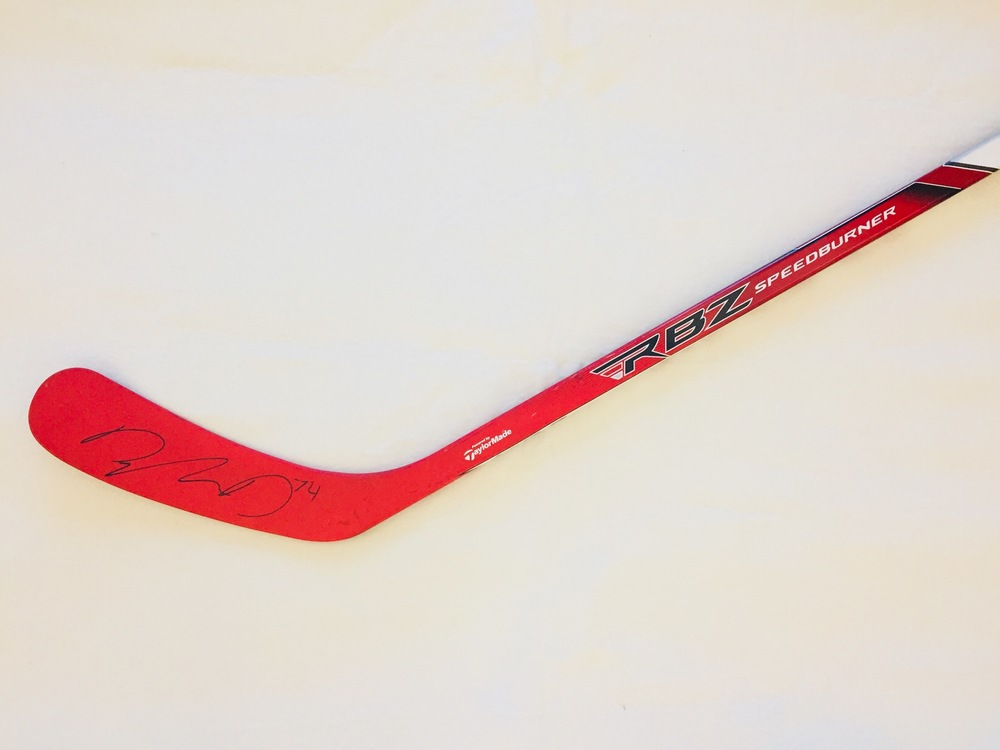 Dylan DeMelo, San Jose Sharks Game-Used and Autographed Stick For Easter Seals Ontario