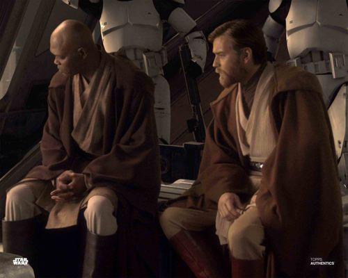 Obi-Wan Kenobi and Mace Windu