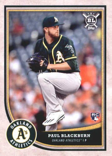 Photo of 2018 Topps Big League #103 Paul Blackburn RC