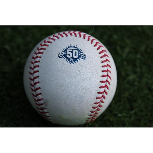 Photo of Game-Used Baseball: Robbie Grossman 95th Career Double (MIN @ KC - 9/14/18)