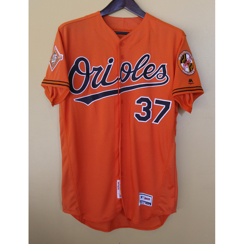 Photo of Dylan Bundy - Orange Alternate Jersey: Team-Issued