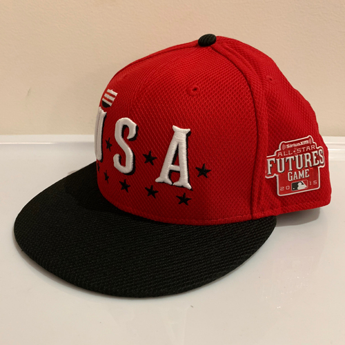 Photo of 2015 All Star Futures Game -  Game Used Cap  - Matt Olson (Oakland Atheltics) Size - 7 -3/8