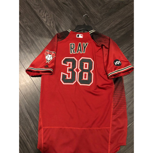 Photo of 2016 Jersey - 2017 All Star #38 Robbie Ray