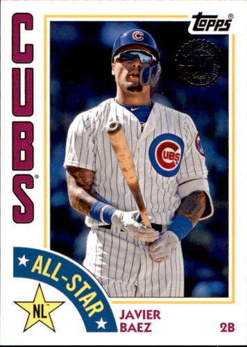 Photo of 2019 Topps '84 Topps All Stars #84ASJB Javier Baez