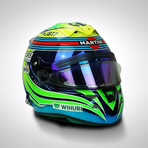 Photo of Felipe Massa 2015 Race-used Helmet