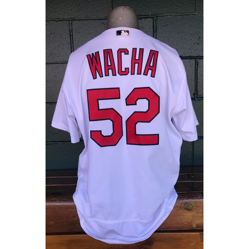 Photo of Cardinals Authentics: 2017 Game Used Michael Wacha Home White Jersey