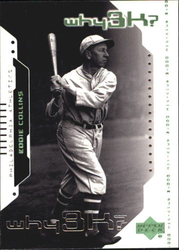 Photo of 2000 Upper Deck Hitter's Club #55 Eddie Collins W3K