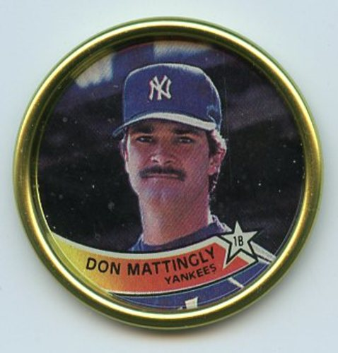 Photo of 1989 Topps Coins #43 Don Mattingly