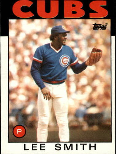 Photo of 1986 Topps #355 Lee Smith