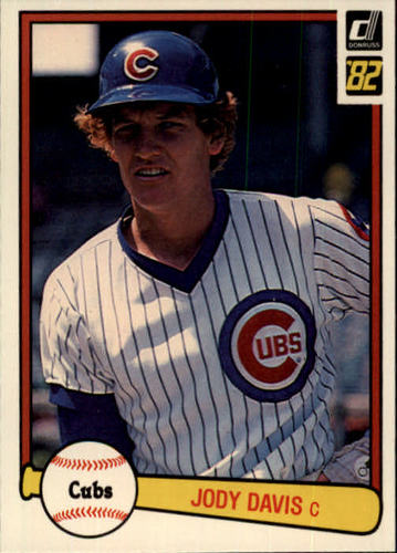 Photo of 1982 Donruss #225 Jody Davis RC