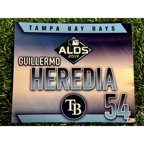 Photo of Team Issued ALDS Locker Tag: Guillermo Heredia