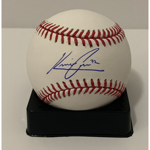 Photo of Kevin Cron Autographed Ball