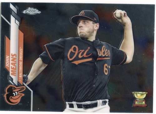 Photo of 2020 Topps Chrome #121 John Means