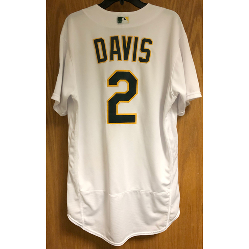 Photo of Game-Used 2020 Jersey - Khris Davis