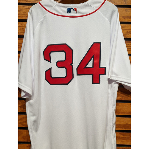 #34 Team Issued Home White Jersey