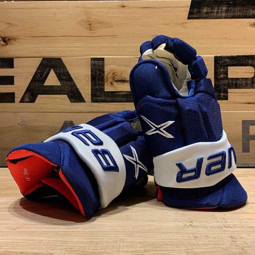 Mikko Lehtonen 2020-21 Game Worn Bauer Gloves