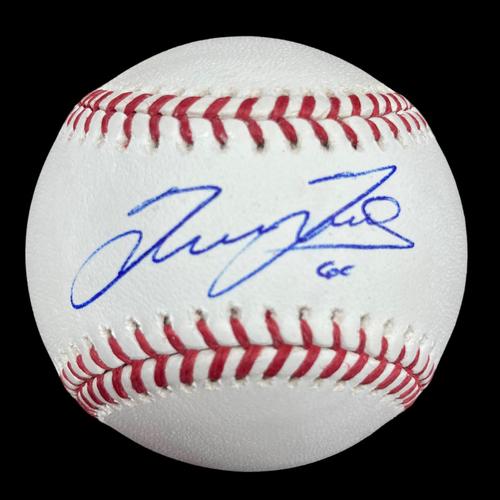 Photo of Giovanny Gallegos Autographed Baseball
