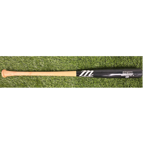 Photo of Game-Used Trea Turner Bat from World Series Game 7