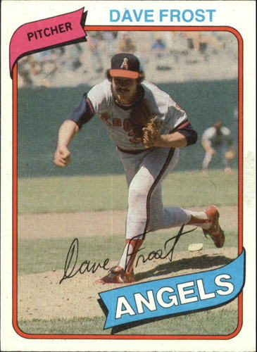 Photo of 1980 Topps #423 Dave Frost