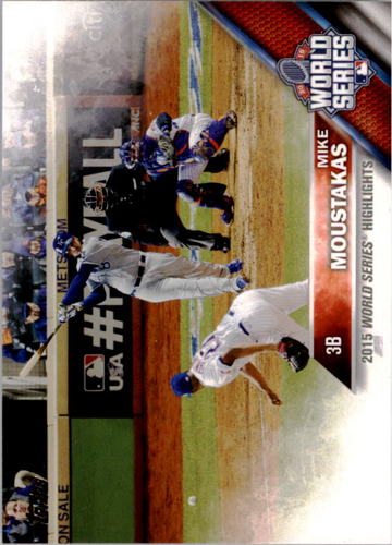 Photo of 2016 Topps #21 Mike Moustakas WSH