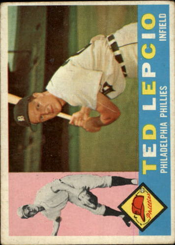 Photo of 1960 Topps #97 Ted Lepcio