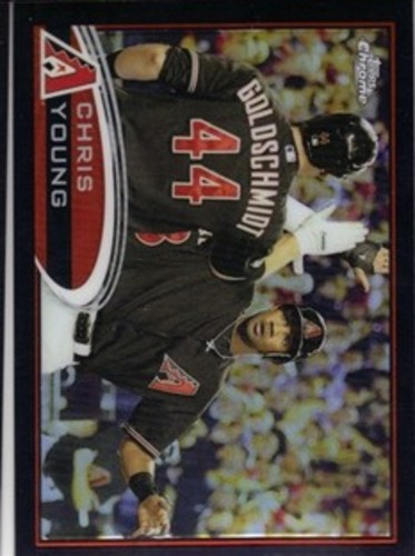 Photo of 2012 Topps Chrome Black Refractors #145 Chris Young