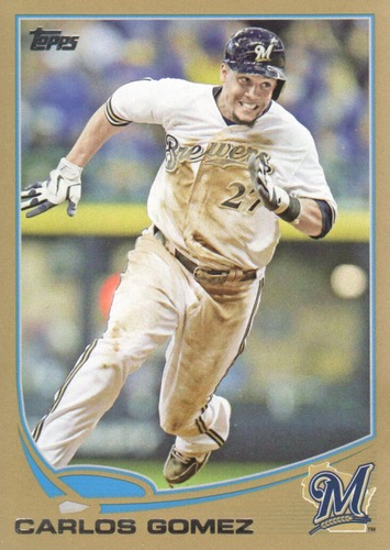 Photo of 2013 Topps Gold #619 Carlos Gomez