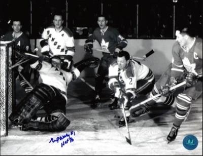 GUMP WORSLEY New York Rangers Goalie SIGNED 8x10 Photo