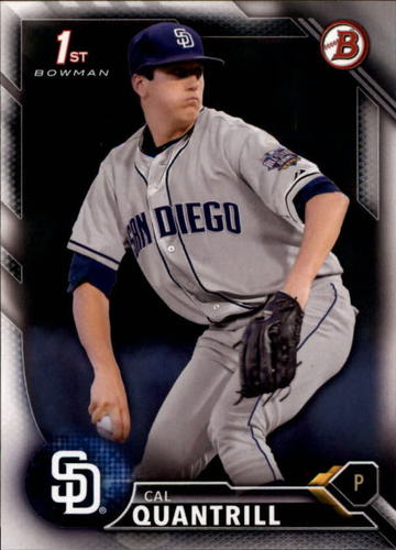 Photo of 2016 Bowman Draft #BD20 Cal Quantrill -- Ranked #40 of MLB's Top 100 Prospects