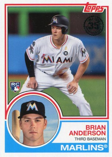 Photo of 2018 Topps '83 Rookies #8311 Brian Anderson