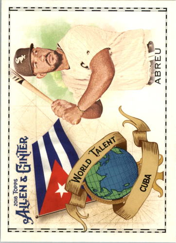 Photo of 2018 Topps Allen and Ginter World Talent #WT9 Jose Abreu