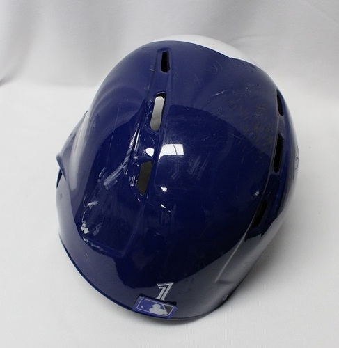 Photo of Authenticated Game Used Helmet - #1 Aledmys Diaz (June 5, 2018: 0-for-3. Sept 5, 2018: 2-for-4 with 1 HR, 2 Runs, 3 RBIs, 1 BB and 1 Double). Size 7 1/2.