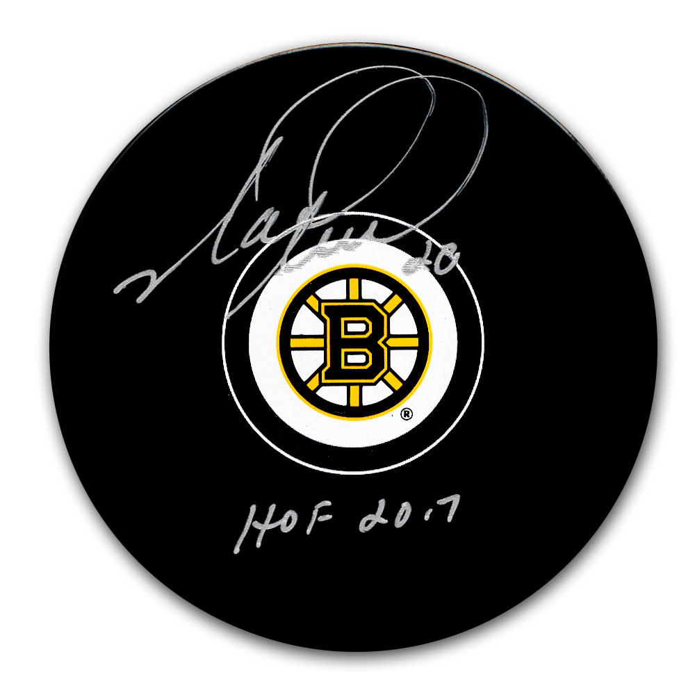 Mark Recchi Boston Bruins HOF Autographed Puck
