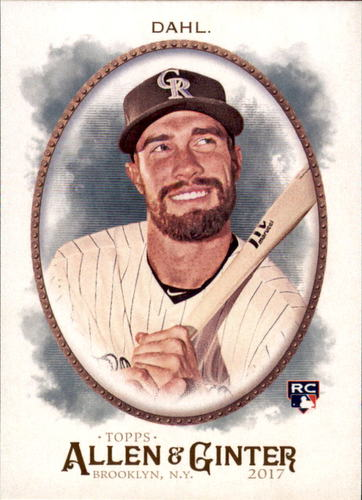 Photo of 2017 Topps Allen and Ginter #76 David Dahl Rookie Card