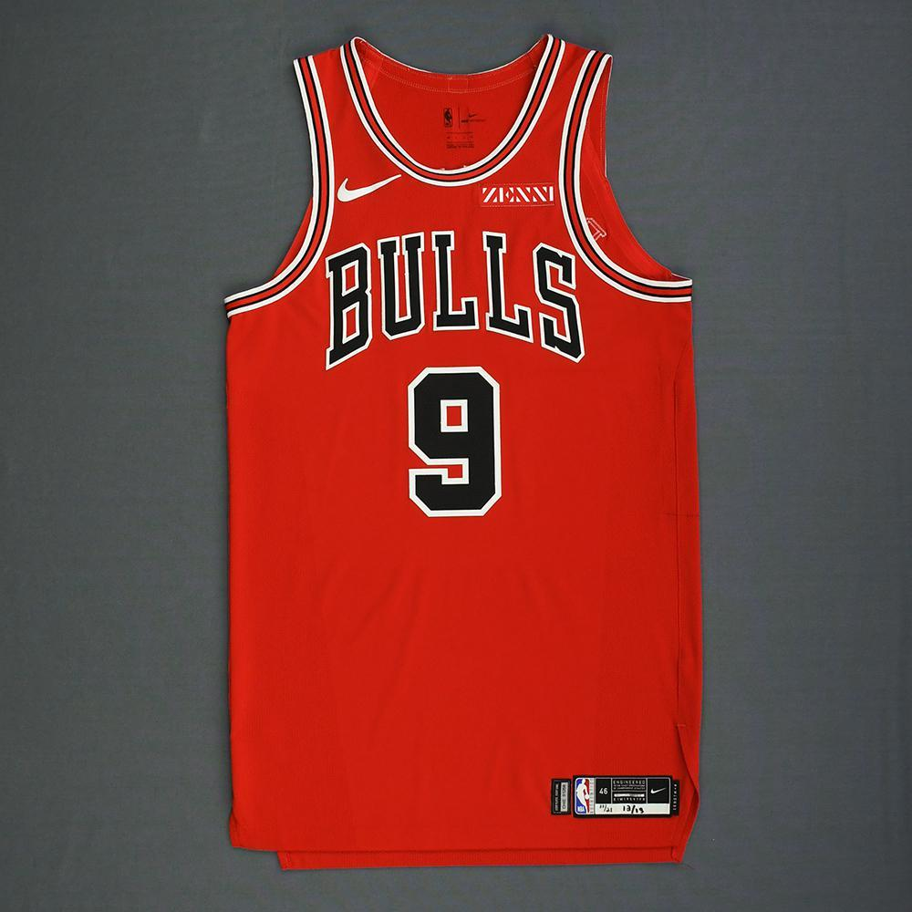 369634284 Antonio Blakeney - Chicago Bulls - Mexico Games - Game-Worn Icon Edition  Jersey -