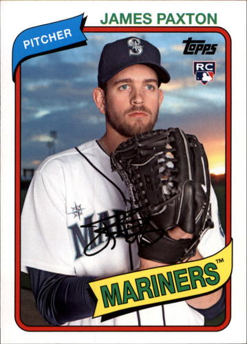 Photo of 2014 Topps Archives #53 James Paxton RC