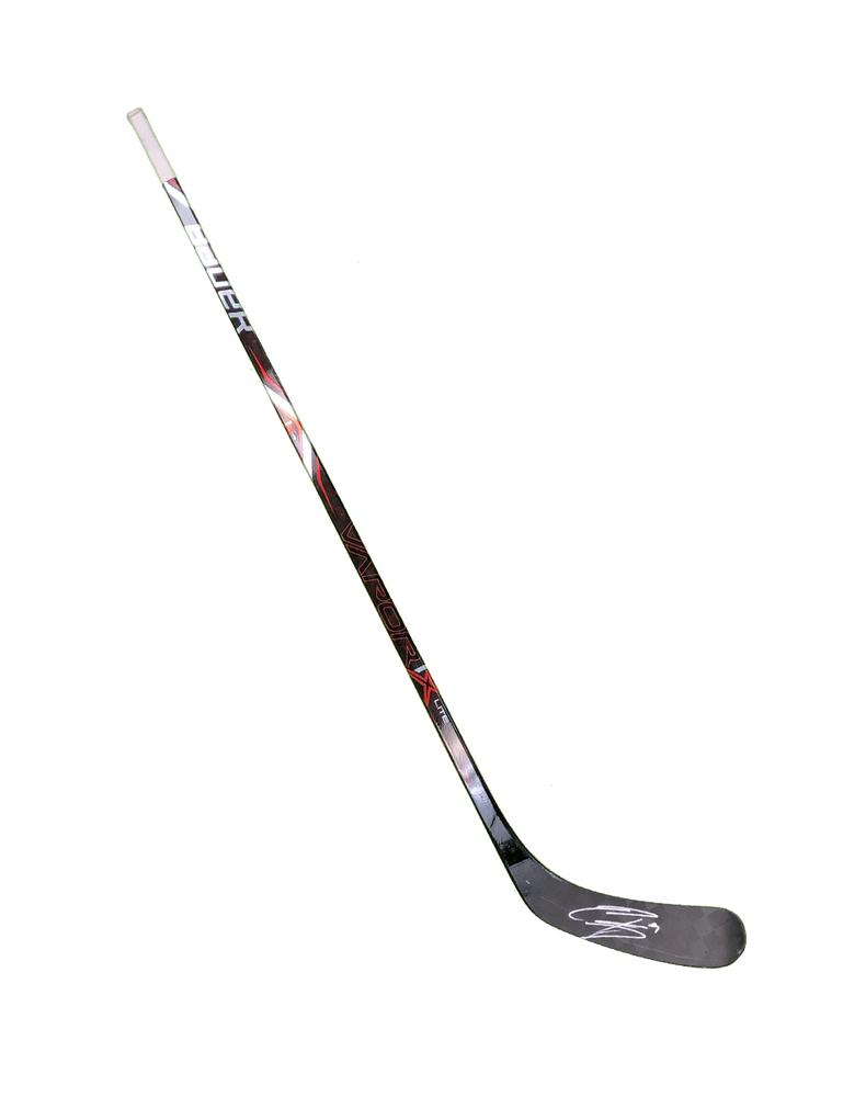 #9 Evander Kane Game Used Stick - Autographed - San Jose Sharks