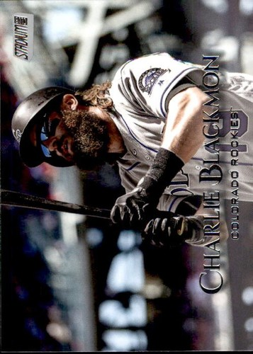 Photo of 2019 Stadium Club #21 Charlie Blackmon