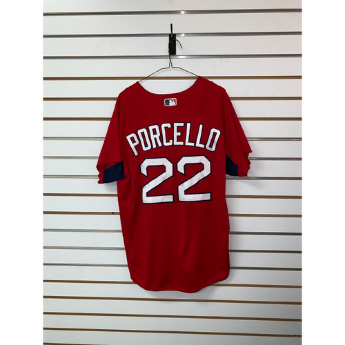 Rick Porcello Team Issued Home Batting Practice Jersey
