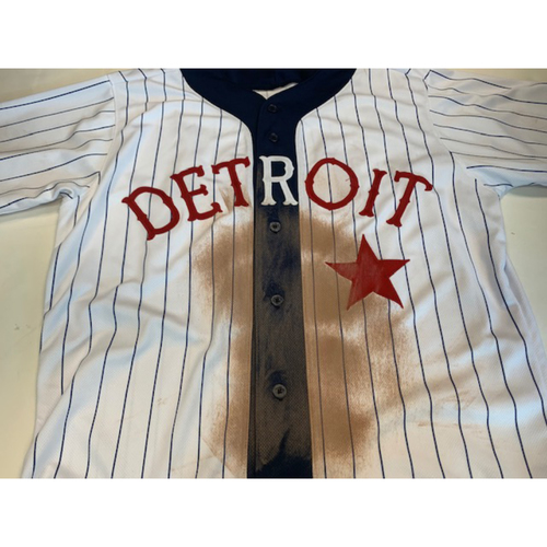 Photo of Game-Used Detroit Stars Jersey: Brandon Dixon