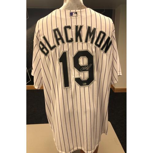 half off df44d ac284 Rockies Auctions   Colorado Rockies Charlie Blackmon ...