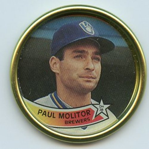 Photo of 1989 Topps Coins #46 Paul Molitor