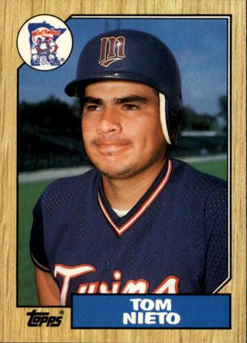 Photo of 1987 Topps Traded #90T Tom Nieto
