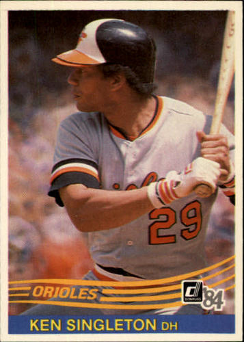 Photo of 1984 Donruss #610 Ken Singleton