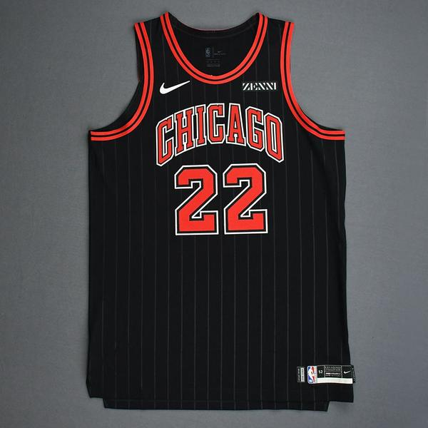 Image of Otto Porter Jr. - Chicago Bulls - Game-Issued Statement Edition Jersey - 2019-20 Season