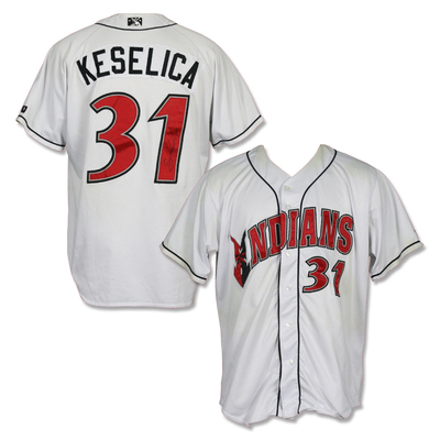 #31 Sean Keselica Autographed Game Worn Home White Jersey