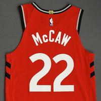 Patrick McCaw - Toronto Raptors - Game-Worn Icon Edition Jersey - NBA Japan Games - 2019-20 NBA Season